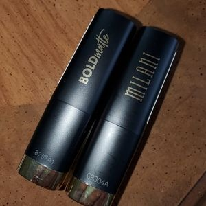 2 milani lipsticks new
